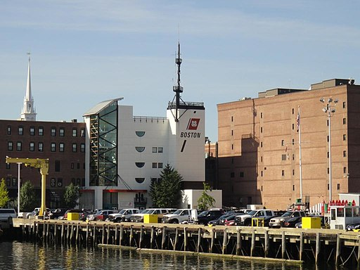 Coast Guard Station in Boston Harbor