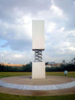Coastal Road massacre statue