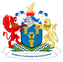Arms of Cheshire East Council
