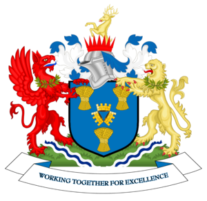 Cheshire East Council - Image: Coat of arms of Cheshire East Borough Council