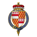 Coat of arms of Sir Walter Devereux, 1st Viscount Hereford, KG.png