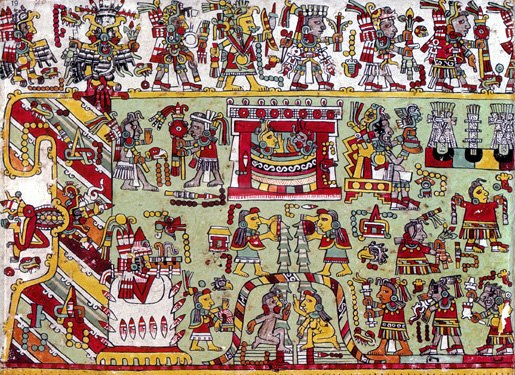 Codex Zouche-Nuttall, page 20