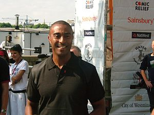 Colin Jackson - Jackson at a charity event in 2005
