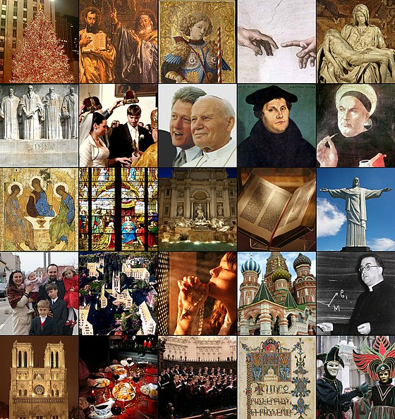 Set of pictures showcasing Christian culture and famous Christian leaders Collage-Christian-culture.jpg