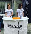 Collecting signatures for the Declaration on the Common Language.jpg