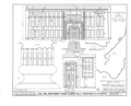 Colonel Paul Wentworth House, Dover Street (moved to MA, Dover), Dover, Strafford County, NH HABS NH,9-SALFA,1- (sheet 13 of 41).png