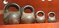 Colonial Russian balance weights, Alaska State Museum 556 01.jpg