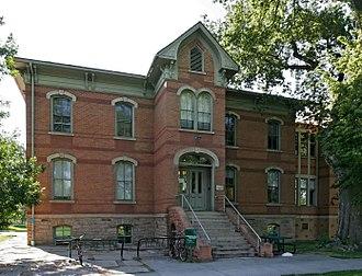 Larimer County, Colorado - Image: Colorado State University Spruce Hall