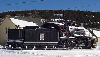 Colorado and Southern Railway - Image: Colorado and Southern Engine 641