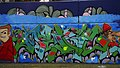 Colourful tagging, Aytoun Road SW9 - geograph.org.uk - 2120445.jpg