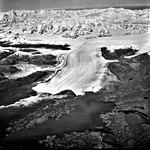 Columbia Glacier, Terminus with Oblique Look at Glacier Head, Terentiev Lake, Heather Island, September 26, 1981 (GLACIERS 1420).jpg
