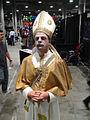 Comikaze Expo 2011 - zombie Pope (6324615531).jpg