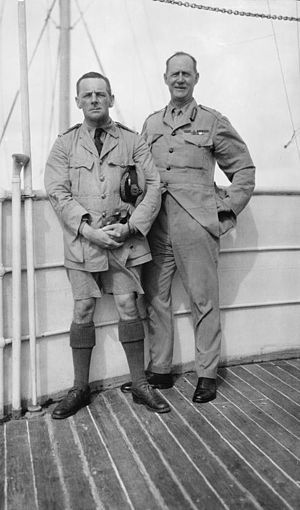David Norris (Royal Navy officer) - Image: Commodore Norris and General Dunsterforce