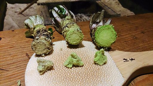 Compare Hikimi Wasabi Color And Taste