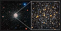 Comparison of views of the globular star cluster NGC 6362 from WFI and Hubble.jpg