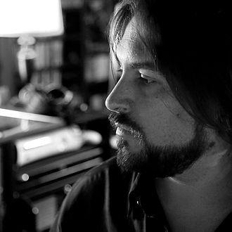 Neal Acree - Acree in his studio