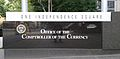 Comptroller of the Currency HQ sign by Matthew Bisanz.jpg