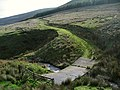 Concrete bridge and mountain track - geograph.org.uk - 269962.jpg