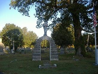 Confederate Memorial in Fulton - Image: Confederate Memorial in Fulton 2