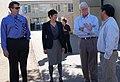 Congressman George Miller visit Mt. Diablo High School's Change the Food, Change Everything Program on February 23, 2012. (6926974241).jpg