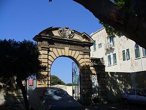 Walter Norris Congreve - Congreve Arch in Floriana, Malta