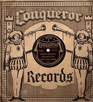 Conqueror Records - Conqueror Record in original paper sleeve