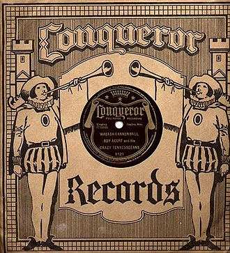 Conqueror Records - Conqueror Record in original paper sleeve