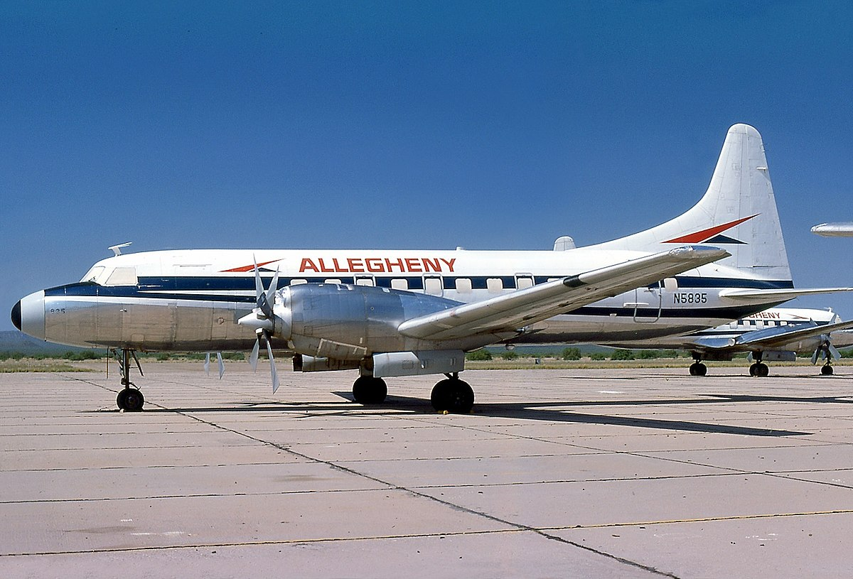 allegheny airlines flight 737
