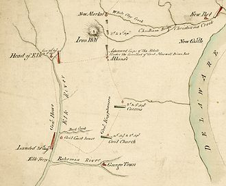 Battle of Cooch's Bridge - Image: Coochs Bridge 1777