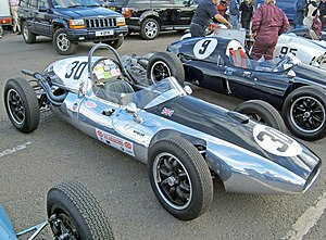 Jim Russell (racing driver) - Ex-Jim Russell Cooper T45 at Donington in 2007