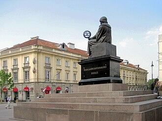 Nicolaus Copernicus Monument, Warsaw - Image: Copernicus, from his compatriots