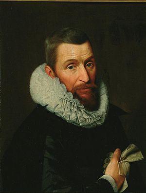 Cornelis Engelsz - Image: Cornelis Engelsz Portret van Floris van Schoterbosch