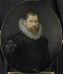 Portrait of Cornelis Matelieff the Younger, Director of the Rotterdam Chamber of the Dutch East India Company, elected 1602