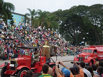 Firefighters Corps of Paraná State - Parade of Independence of Brazil - 2009.