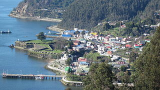 Town and Commune in Los Ríos, Chile
