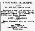 Cosmophilatelist ad in Brisbane Courier 1928.jpg