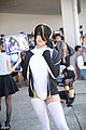 Cosplayer of Emperor penguin, Kemono Friends at FF32 20180729d.jpg