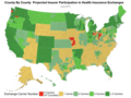 County By County Projected Insurer Participation in Health Insurance Exchanges.png