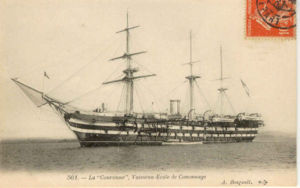 French ironclad Couronne - Image: Couronne bougault 2