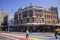 Court House Hotel and the Rainbow Crossing on Oxford Street in Darlinghurst.jpg