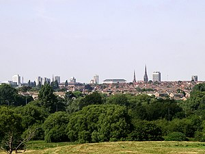 Coventry skyline - view from baginton 3g06.JPG