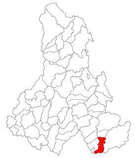 Cozmeni Commune in Harghita, Romania