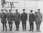 Crew of NC-1 in front of their Plane at Rockaway Beach, New York.jpg