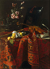 Cristoforo Munari - Still Life with Musical Instruments - Google Art Project.jpg