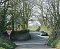 Crossroads at the top of Nettlebridge Hill - geograph.org.uk - 1250641.jpg