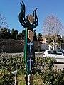 """Crotone, installazione artistica """"Sirena del Mare"""".jpg"""
