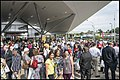 Crowd waiting for first ride on Redcliffe Train-2 (30080527495).jpg
