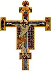 Crucifix du Maestro di San Francesco (Pérouse)