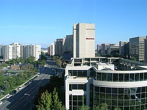 Crystal City, Arlington, Virginia - Downtown Crystal City in October 2005