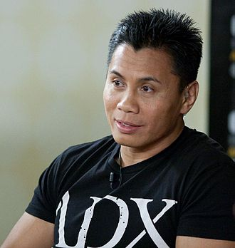 Cung Le - Le on the set of Inside MMA in August 2009.